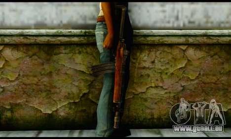 Ruger Mini-14 from Gotham City Impostors v2 für GTA San Andreas dritten Screenshot