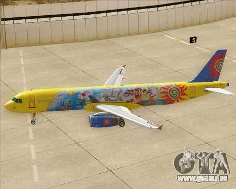 Airbus A321-200 pour GTA San Andreas roue