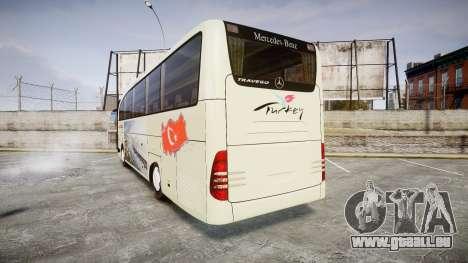 Mercedes-Benz Travego Turkey pour GTA 4 Vue arrière de la gauche