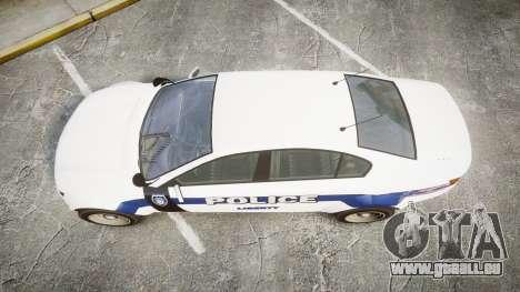 GTA V Cheval Fugitive LS Liberty Police [ELS] Sl pour GTA 4 est un droit