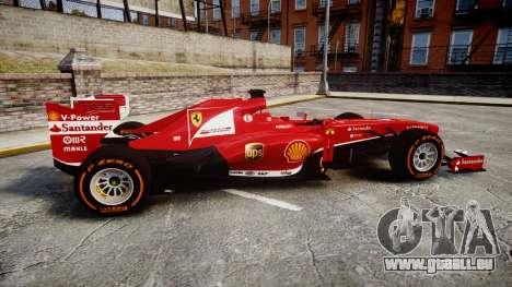 Ferrari F138 v2.0 [RIV] Alonso THD für GTA 4 linke Ansicht