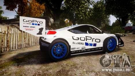 Suzuki Monster Sport SX4 2011 pour GTA 4 est une gauche