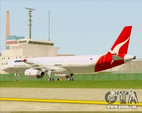Airbus A321-200 Qantas für GTA San Andreas Seitenansicht