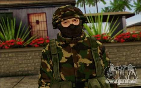 The Expendables 2 Enemy pour GTA San Andreas troisième écran