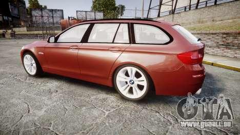 BMW 530d F11 für GTA 4 linke Ansicht