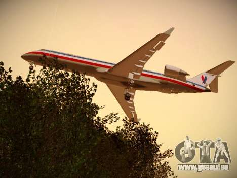 Bombardier CRJ-700 American Eagle pour GTA San Andreas