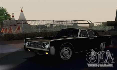 Lincoln Continental Berline (53А) 1962 pour GTA San Andreas