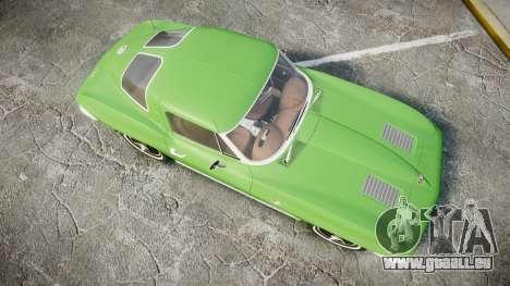 Chevrolet Corvette Stingray 1963 pour GTA 4 est un droit