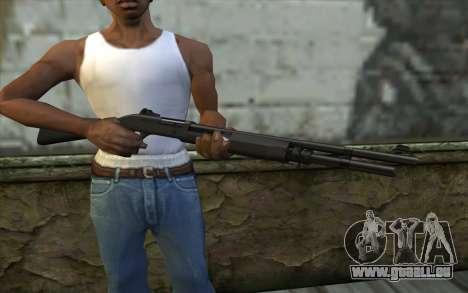 Benelli M3 Bump Mapping v4 pour GTA San Andreas troisième écran