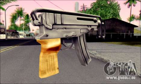 Škorpion vz. 61 pour GTA San Andreas deuxième écran