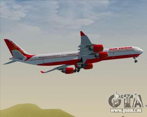 Airbus A340-600 Air India für GTA San Andreas Rückansicht