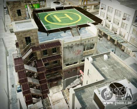 Garage avec de nouveaux intérieur Alcaline pour GTA 4 cinquième écran