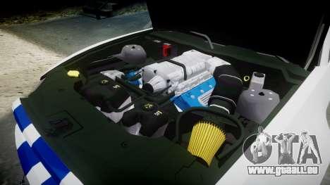 Ford Mustang GT 2014 Custom Kit PJ3 pour GTA 4 est un côté