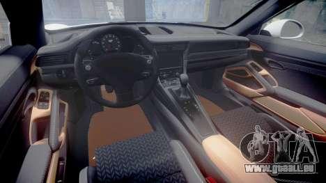 Ruf RGT-8 für GTA 4 Innenansicht