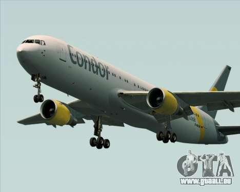 Boeing 767-330ER Condor für GTA San Andreas Räder
