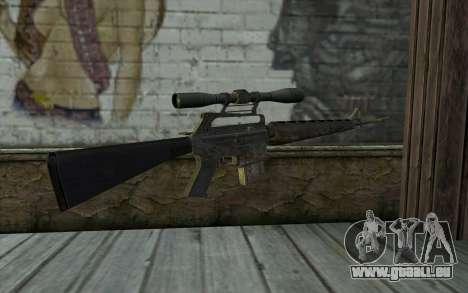 M16S from Battlefield: Vietnam pour GTA San Andreas deuxième écran