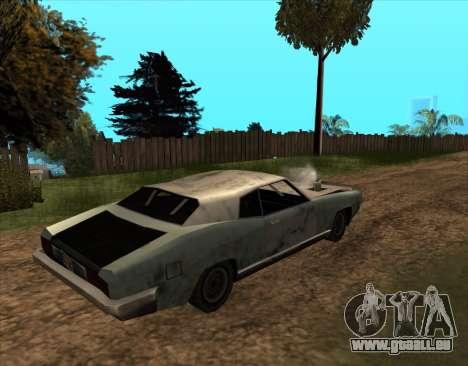 Post-Apocalyptique Boucanier pour GTA San Andreas laissé vue