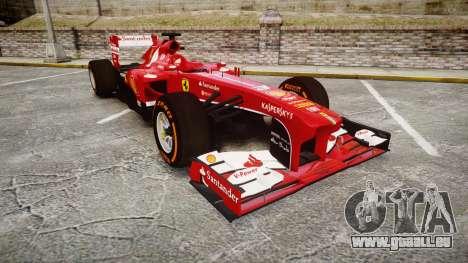 Ferrari F138 v2.0 [RIV] Alonso THD pour GTA 4