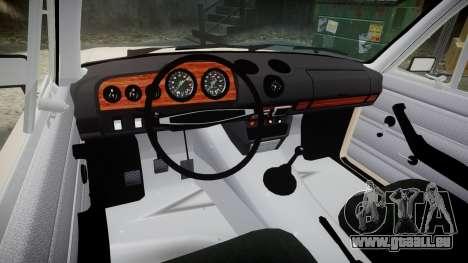CES Lada 2106 pour GTA 4 Vue arrière
