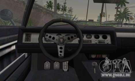 GTA 5 Phoenix pour GTA San Andreas sur la vue arrière gauche