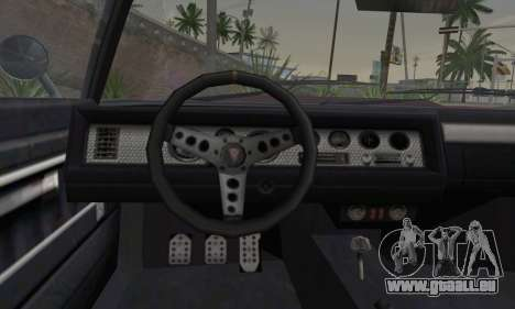 GTA 5 Phoenix für GTA San Andreas zurück linke Ansicht