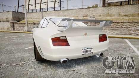 GTA V Pfister Comet pour GTA 4 Vue arrière de la gauche