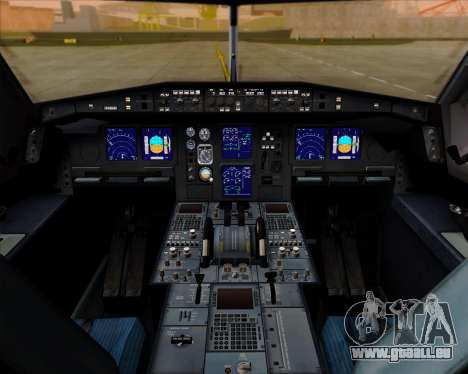 Airbus A340-600 Air India für GTA San Andreas Innen