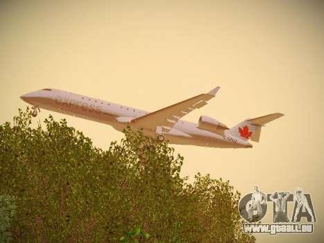Bombardier CRJ-700 Air Canada Express pour GTA San Andreas vue de droite