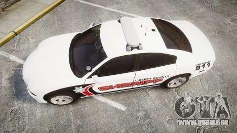 Dodge Charger RT 2013 LC Sheriff [ELS] für GTA 4 rechte Ansicht