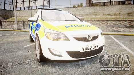 Vauxhall Astra Estate Metropolitan Police [ELS] pour GTA 4