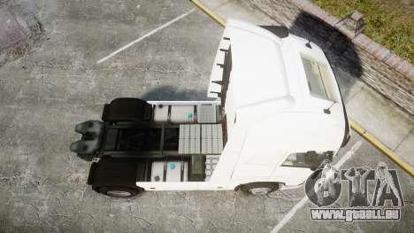 Volvo FH16 pour GTA 4 est un droit