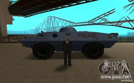 Car Indicator (HP) pour GTA San Andreas troisième écran
