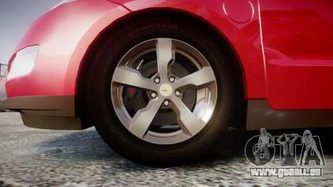 Chevrolet Volt 2011 v1.01 rims1 pour GTA 4 Vue arrière