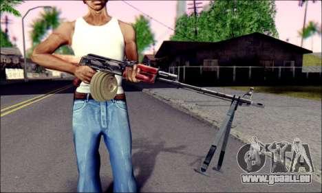 RPK-74 von ArmA 2 für GTA San Andreas dritten Screenshot