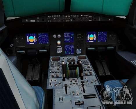 Airbus A321-200 British Midland International pour GTA San Andreas salon