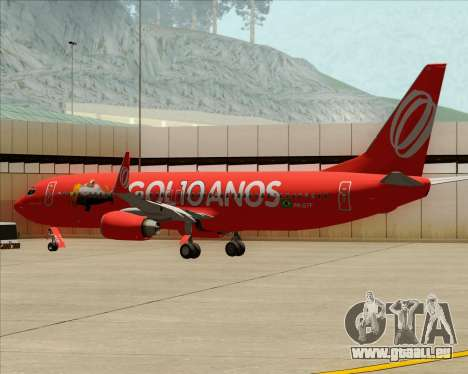 Boeing 737-800 Gol Transportes Aéreos für GTA San Andreas Räder