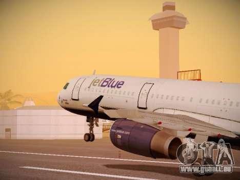 Airbus A321-232 jetBlue Woo-Hoo jetBlue für GTA San Andreas Räder