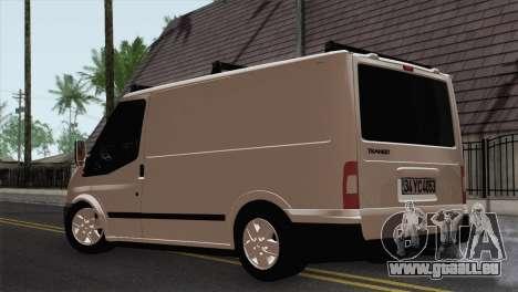 Ford Transit ACERMANS RC pour GTA San Andreas laissé vue