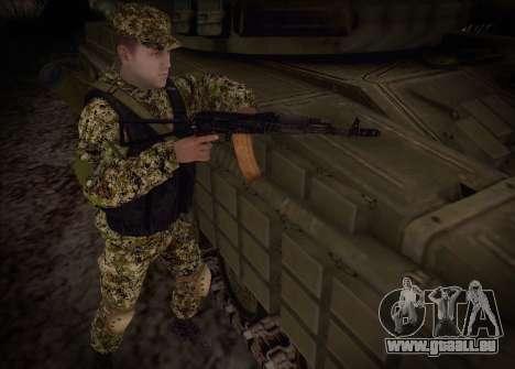 Les flèches de la milice du MDN pour GTA San Andreas troisième écran