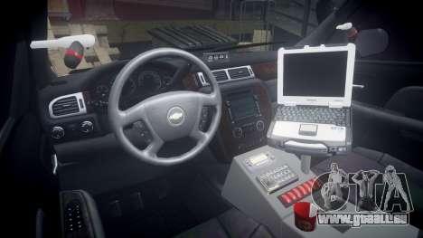 Chevrolet Suburban [ELS] Rims2 pour GTA 4 Vue arrière
