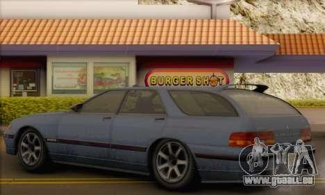 GTA 5 Stratum pour GTA San Andreas vue arrière