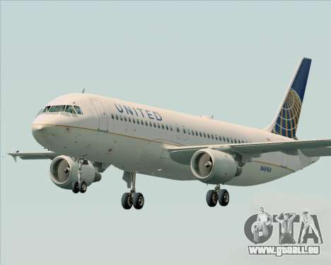 Airbus A320-232 United Airlines pour GTA San Andreas