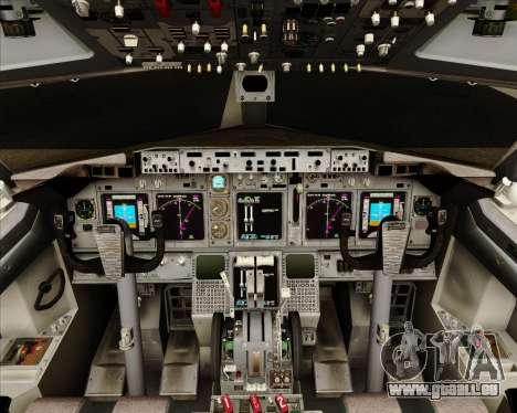 Boeing 737-800 Gol Transportes Aéreos pour GTA San Andreas salon