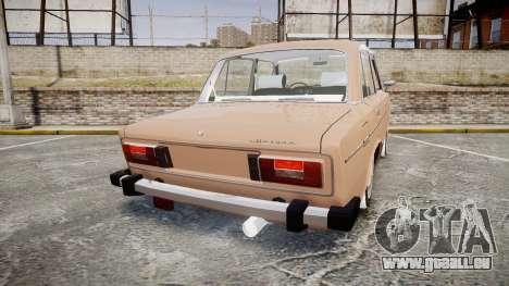 VAZ-2106 hooligan azerbaïdjanais style pour GTA 4 Vue arrière de la gauche