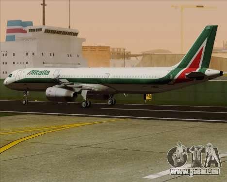 Airbus A321-200 Alitalia pour GTA San Andreas vue intérieure