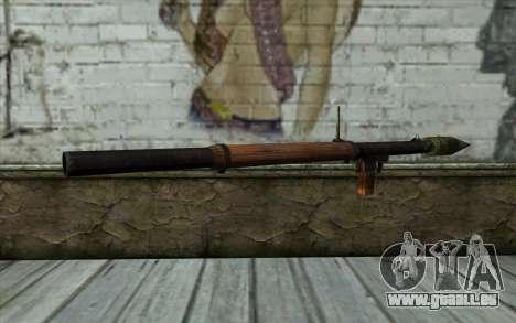РПГ-2 (Battlefield: Vietnam) pour GTA San Andreas deuxième écran