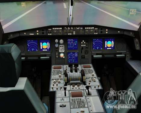 Airbus A330-300X Swiss International Air Lines für GTA San Andreas Innen