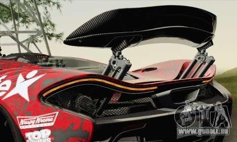 McLaren P1 HQ pour GTA San Andreas roue