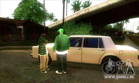 Situation de vie v3.0 pour GTA San Andreas deuxième écran