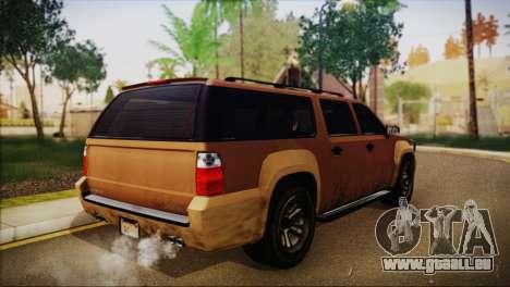 GTA 5 Granger für GTA San Andreas linke Ansicht
